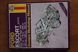 Haynes Ford Escort '80-'90