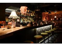 Full & Part Time Bar Staff for lively rum bar in Marylebone