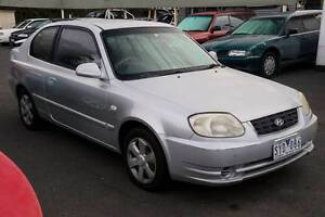 2004 Hyundai Accent Auto 3 Door Hatchback Ringwood Maroondah Area Preview