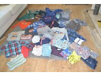 Bundle of branded clothes, boy 12-24 months