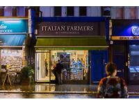 Looking for a Business Partner for managing an Italian Delicatessen in Finsbury Park