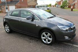 2011 VAUXHALL ASTRA SXI 1.4 (NEW SHAPE) 33000 MILES MOT APRIL 2017 SERVICE HISTORY FOCUS MEGANE GOLF