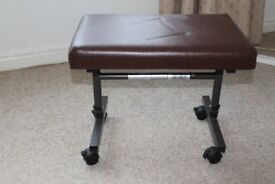 For sale - Footstool with casters