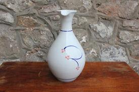 Vintage Irish Handthrown Wine Carafe jug Stoneware Jackson Pottery Studio Pottery Decanter Hand Made