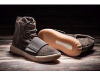 adidas Yeezy Boost Light Brown 'Chocolate' - UK Size 9 -