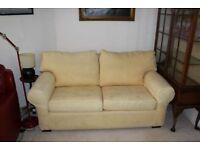 Quality Sofa Bed - Primrose Yellow.