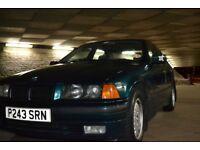 BMW E36 318i 3 Series Saloon (Runs and drives but NO MOT)