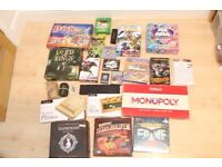 Job lot of 26 table top games including Sentinels of the Multiverse, Lord of the Rings and Zombies!!