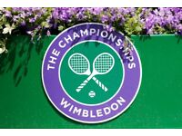 2 x Centre Court Tickets for Wimbledon Ladies Semi Final Thu 12th July