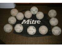 footballs size4/5 & bag