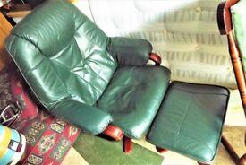 Nice set of armchair and stool