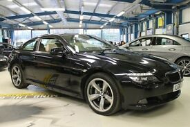 BMW 635d SPORT [PRO NAV / PANO ROOF / LEATHER] (black sapphire metallic) 2010