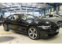 BMW 635d SPORT [PRO NAV / PANO ROOF / LEATHER] (black sapphire metallic) 2010