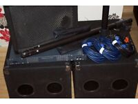 1200w SmartSound Direct PA System | Great Condition | Compact, Rugged and Lightweight