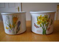Portmeirion plant pot holders
