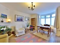 A large two bedroom flat located on the ground floor of this converted house.