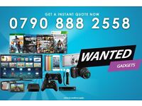 WANTED Apple iPhone Samsung PlayStation Xbox Sony Nikon Canon Dyson MacBook iPad iMac PS4 Bose Dell