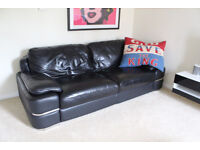 3 Piece Sofa, Armchair and Ottoman- Primo Real Italian leather - Rotherham - Sheffield