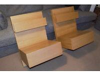 """Ikea """"Malm"""" Bedside Tables"""