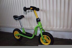 Kids Balance Bike. Adjustable, ages 2-5. Excellent condition