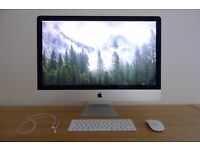 27-inch iMac 8GB - Immaculate Condition - Bought in Nov 2016