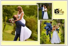 Starting £100 wedding and event photography