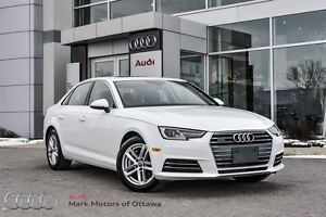 2017 Audi A4 2.0T Komfort w/Convenience package