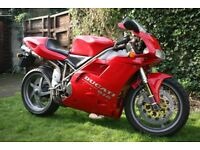 Ducati 916 Strada 1994 with many spares and parts to suit 748 / 996 / 998