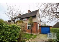 DON'T MISS THIS BEAUTIFUL 3 BEDROOM HOUSE WITH LARGE CONVERTED GARDEN ROOM IN HAMPSTEAD NW11
