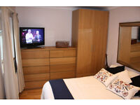 SHORT OR LONG TERM LUXURY DOUBLE ROOM WITH ENSUITE BATHROOM IN QUIET HOUSE, 5 MIN BUS TO WOOD GREEN