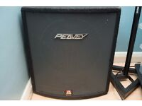 Peavey Hisys 115xt Black Widow Loaded
