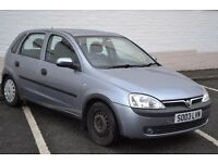 Vauxhall Corsa. 1.0 Petrol, 5 door Long MOT