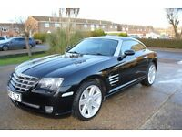 Chrysler Crossfire 2007, Low mileage (49000m)