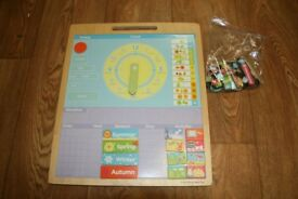 Bigjigs Magnetic Weather Board Teaching Aid
