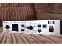Roland GI-20 guitar to MIDI interface - GK USB
