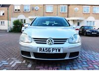 VOLKSWAGEN GOLF 1.9 TDI MATCH DSG AUTOMATIC 5 DR HPI CLEAR FSH 76K MILES 2 KEYS EXCELLENT CONDITION