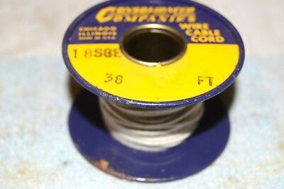 Consolidated Wire Co New Nos 18sce Single Covered Enamel Awg 18 Spool 38 Feet