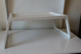 White tray (great for use in bed)