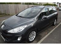 Peugeot 308 1.6 HDI Diesel Estate 6 Speed Manual 2009