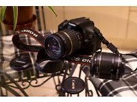 Canon 600D with Extra Lens and Accessories