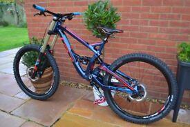 gt fury expert full downhill mtb bike dh