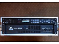 QSC RMX 2450 (RMX2450) PA Power Amp, Great Condition