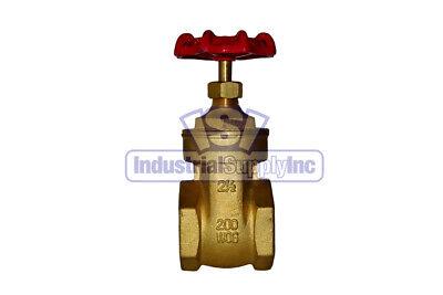 Gate Valve 2-12 Full Port Brass Industrial Supply