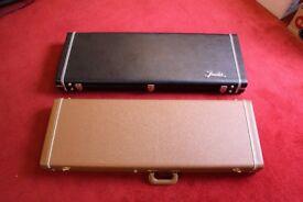 2x Fender Jazzmaster/Jaguar hardcases G&G