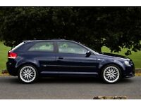 Audi A3 2.0 TFSI S line 3 door **JUST BEEN SERVICED AND MOT'd (on the 23/07/16)**
