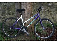 Bargain Ladies Emmelle Town Bike 18 Inch Fully Serviced Delivery Available