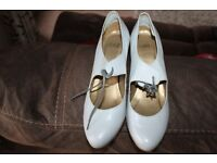 light grey coloured ladies shoes