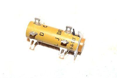 Vector New Nos 6-a-12t Special Turret Transistor Socket Junction Block