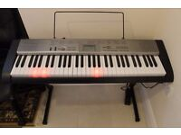 Music Keyboard Casio LK120 with stand