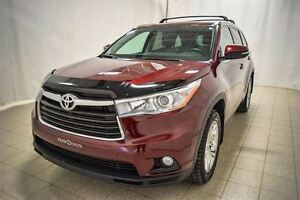 2015 Toyota Highlander Limited, AWD, Toit Ouvrant, Roues en Alli